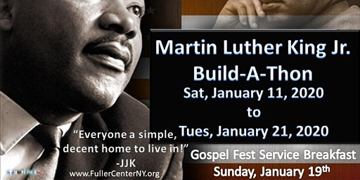 Martin Luther King Jr. Build-A-Thon