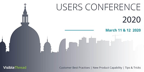VisibleThread Users Conference 2020 tickets