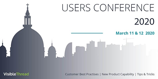 VisibleThread Users Conference 2020