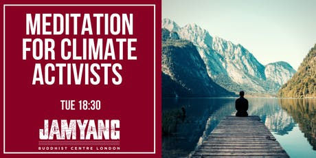 Meditation for Climate Activists tickets