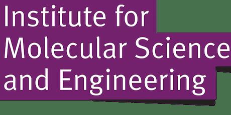 Molecular Science & Engineering MRes Lunch tickets