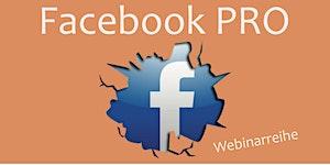 Facebook PRO | Wie ein Profi agieren | Start der...
