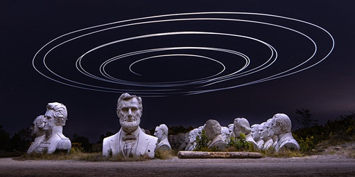 Presidents Heads Evening Photo Shoot & Light Painting Workshop