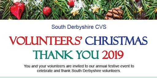 Volunteers' Christmas Thank You 2019
