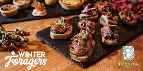 Sparkles & Christmas Canapes with The Winter Foragers & Brighton Wine tickets