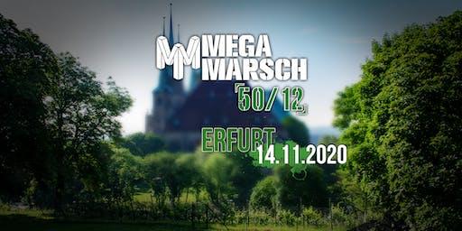 Megamarsch 50/12 Erfurt 2020