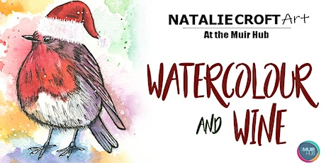 Watercolour and Wine tickets