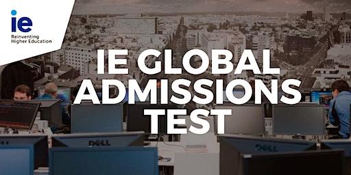 IE Global Admissions Test - Bogotá