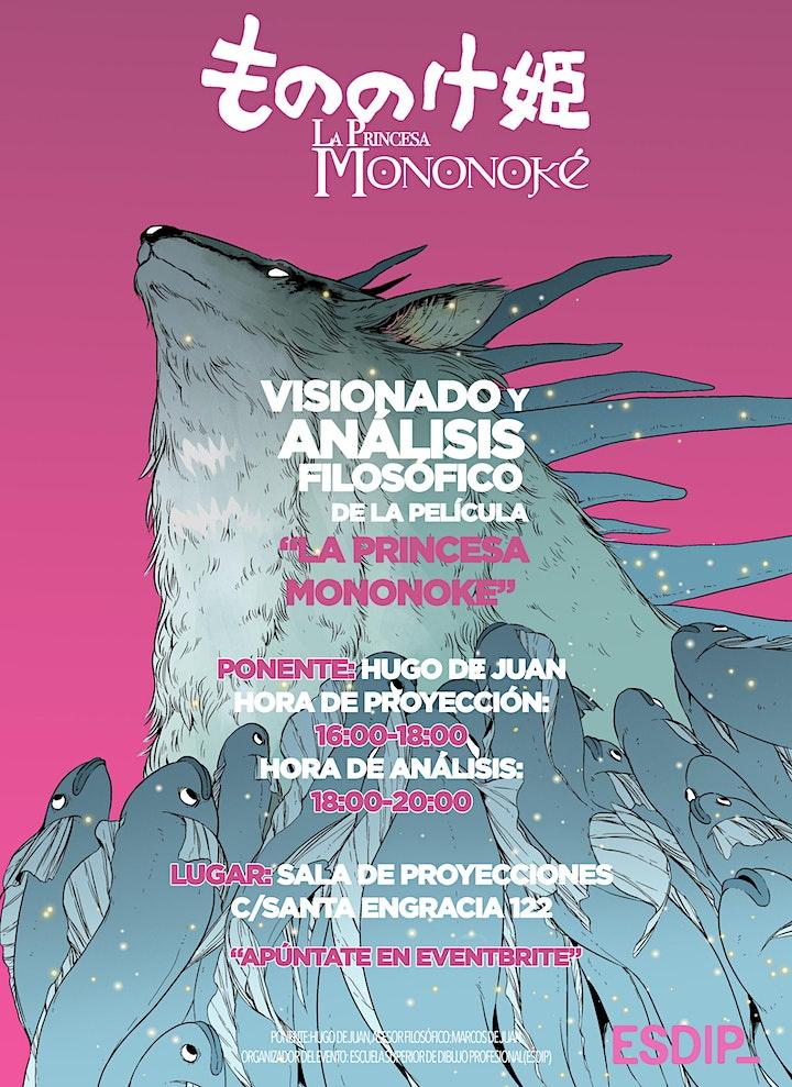 Imagen de La Princesa Mononoke: Visionado y análisis