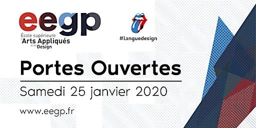 Portes Ouvertes EEGP l'école supérieure d'arts appliqués et de design, 25 janvier 2020