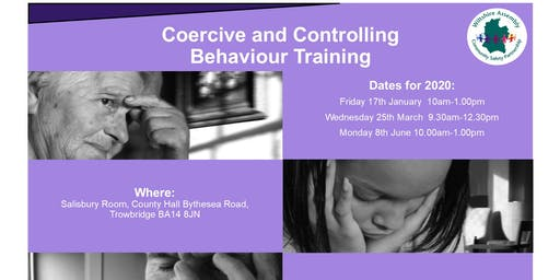 Coercive & Controlling Behaviours -Training for Professionals
