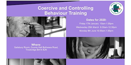 Coercive & Controlling Behaviours -Training for Professionals