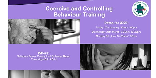 Coercive and Controlling Behaviour - Training for Professionals