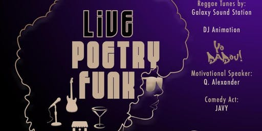 Live poetry funk