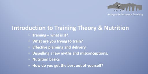 Workshop - Introduction to Training Theory and Nutrition