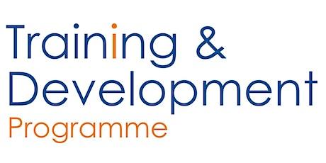Training & Development Programme: Basic Bid Writing tickets