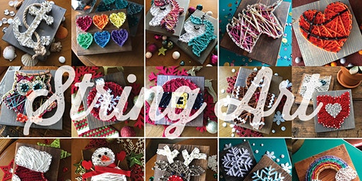 String Art: Pick Your Project / Birch Cafe, Highland Heights