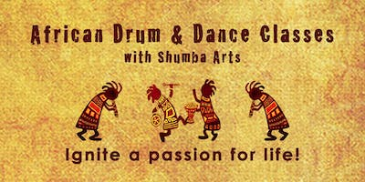 African Drum & Dance Classes ~ Dartington