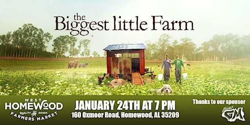 """The Biggest Little Farm"" movie - Birmingham"