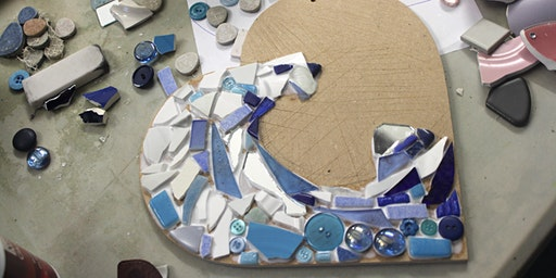 Mosaic Workshop at The Peppercorn
