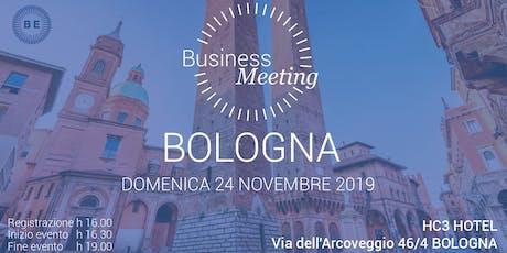 Business Meeting Bologna biglietti