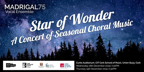 Madrigal '75 Christmas Concert 'Star of Wonder' Wednesday, 18 Dec 2019 tickets