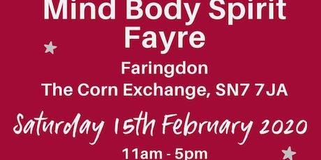 Mind Body Spirit Fayre tickets