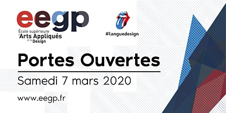Portes Ouvertes EEGP l'école supérieure d'arts appliqués et de design, 7 mars 2020 billets