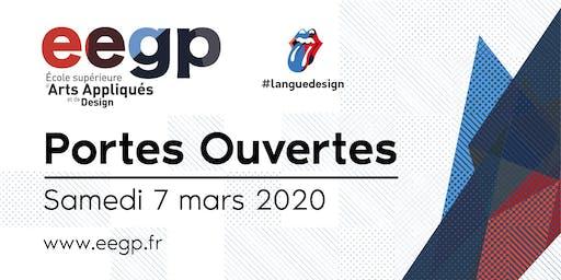 Portes Ouvertes EEGP l'école supérieure d'arts appliqués et de design, 7 mars 2020