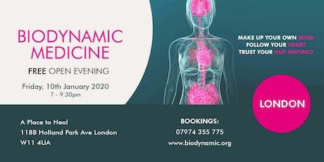 Biodynamic FREE Open Evening London tickets