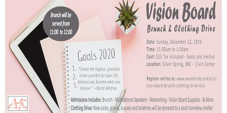 """""""I am Excited About Your Future"""" Vision Board Brunch & Clothing Drive tickets"""