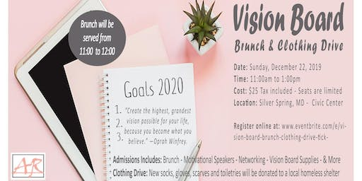 Vision Board Brunch & Clothing Drive