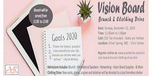 """""""I am Excited About Your Future"""" Vision Board Brunch & Clothing Drive"""