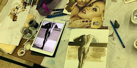 Il manichino: studio e disegno del corpo umano- primo livello biglietti