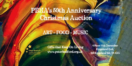 PBHA's 50th Anniversary Christmas Auction tickets
