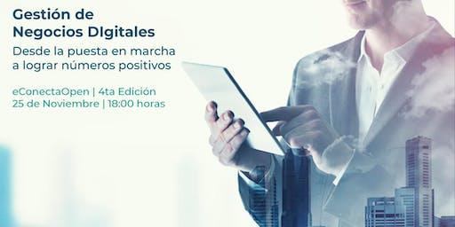 Econecta Open 4: Gestión de negocios digitales