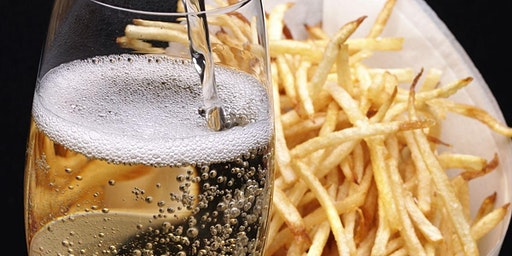Holiday Sparkling Tasting and French Fries!