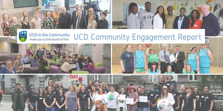 UCD Community Engagement Report launch tickets