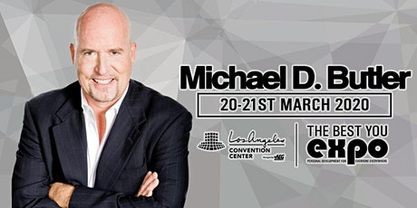 Michael Butler at The Best You EXPO 2020, Los Angeles tickets