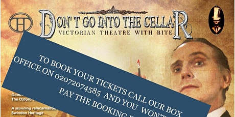 Don't Go Into the Cellar - Strictly Sherlock tickets