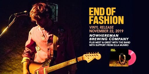 END OF FASHION | VINYL RELEASE