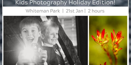 Kids Photo Walk @ Whiteman Park, School Holiday Program