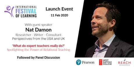 Launch Event - International Festival of Learning 2020 tickets
