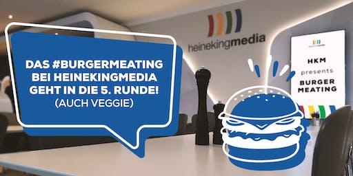 #BURGERMEATING bei heinekingmedia (auch VEGGIE)