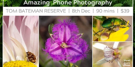 Phone Camera Closeups and Other Amazing Phone Camera Techniques tickets