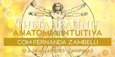 Curso ThetaHealing® Anatomia Intuitiva - Campinas