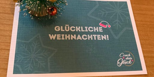 Coach dein Glück - Weihnachtsfeier
