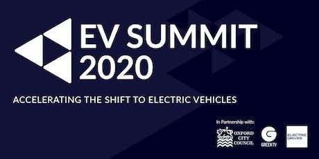 The EV Summit 2020 tickets