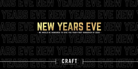 New Years Eve at CRAFT Beer Market tickets