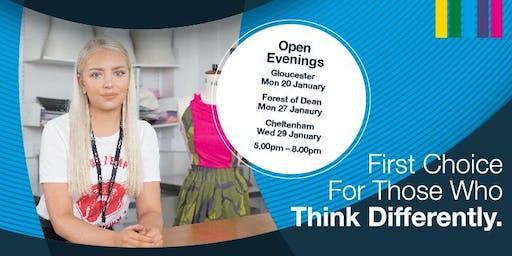 Gloucester Campus Open Evening - 20 January 2020